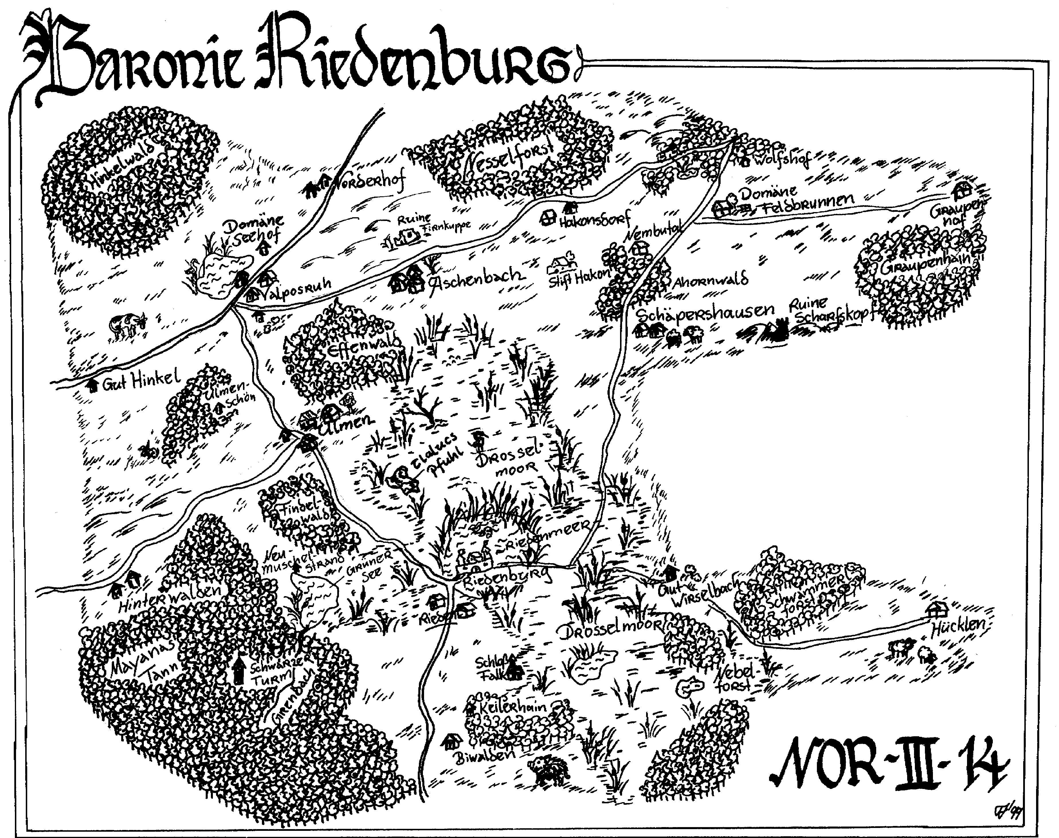 Karte Riedenburg (c) T. Hagner